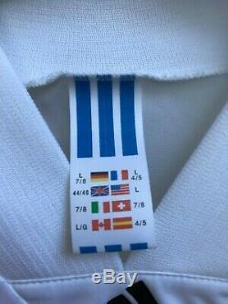 Bayern Munchen Germany 1991/1992/1993 Away Football Shirt Jersey Adidas Size L