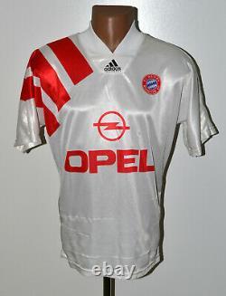 Bayern Munchen Germany 1991/1992/1993 Away Football Shirt Jersey Adidas Size S