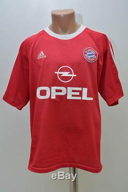 Bayern Munchen Germany 2001/2002 Home Football Shirt Jersey Adidas Janker #19