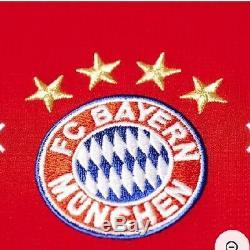 Bayern Munchen Jersey Home 2015-2016, sIze XXL Adult (New) Champions