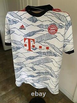Bayern Munchen Lewandowski Third 2021 Jersey US Adult Large
