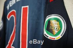 Bayern Munchen MATCH WORN shirt jersey SPIELERTRIKOT Formotion LAHM Pokal Cup