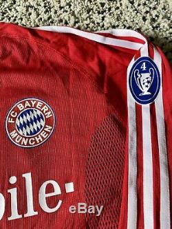 Bayern Munchen Matchworn Jersey Shirt Tarnat
