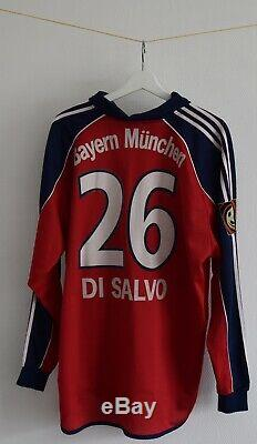 Bayern Munchen Matchworn Trikot Shirt Jersey Antonio DI Salvo 2000 2001