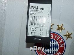 Bayern Munchen Munich 2012 2013 Player Issue Techfit Long Sleeve Shirt Jersey