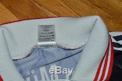 Bayern Munchen Munich BASLER Match Worn Player Issue 1997-99 vtg jersey shirt RR