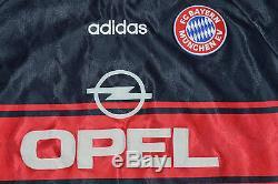 Bayern Munchen Munich MARIO BASLER 1997-99 Match Worn Player Issue jersey shirt