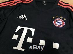 Bayern München Munich UCL Long Shirt Jersey Trikot Rare Official Adizero Size 7