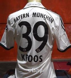 Bayern Munchen Shirt Away 2013-2014, sz M #39 KROOS Official Nameset, Last Stock