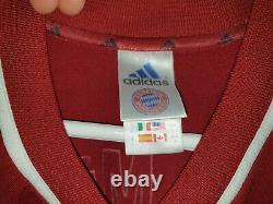 Bayern Munchen Shirt Trikot Jersey 2001 2003 HARGREAVES #23 L Adidas Burgundy
