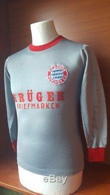 Bayern Munchen mid 80' Jugendmannschaft match worn jersey spieler trikot Erima
