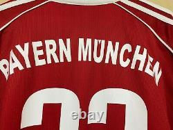 Bayern Munich 06/07 Hargreaves Trikot Maglia Jersey Shirt Camiseta Long sleeve L