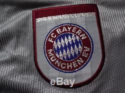 Bayern Munich 100% Original Jersey Shirt 1998/99 CL Kit L Still BNWT NEW Rare