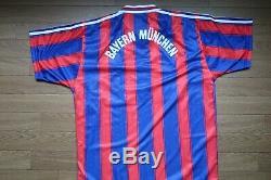 Bayern Munich 100% Original Jersey Shirt L 1996/1997 Home Good Condition 2879