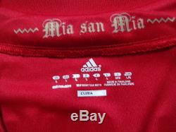 Bayern Munich 100% Original Jersey Shirt L 2012/13 Home BNWT NEW