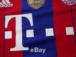 Bayern Munich 100% Original Jersey Shirt M 2014/15 Home BNWT Champion Patch