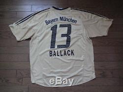 new arrival 01307 72b11 Bayern Munich #13 Ballack 100% Original Jersey Shirt 2006/07 ...