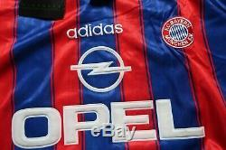 Bayern Munich #18 Klinsmann 100% Original Jersey Shirt L 1995/1996 Home 3290