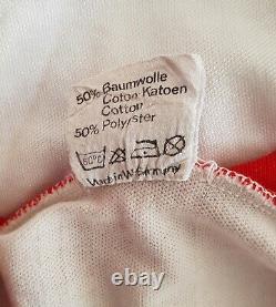Bayern Munich 1975-1976 Away football Adidas Player Issue jersey #14
