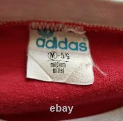 Bayern Munich 1975-1976 Home football Adidas Player Issue jersey #9 Gerd Muller