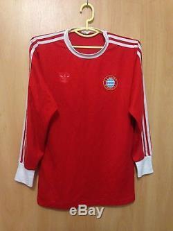 best service 2df09 436f6 Bayern Munich 1980/1982/1984 Home Football Shirt Jersey ...