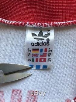Bayern Munich 1982 1983 Away Football Shirt Soccer Jersey Adidas #11