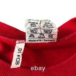 Bayern Munich 1982/84 Home Soccer Jersey Medium Adidas Erima