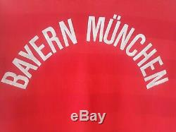 Bayern Munich 1984/1986 Home Football Shirt Jersey Germany Adidas