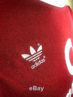 Bayern Munich 1984/1989 Home Football Soccer Jersey Shirt Trikot Adidas Size S/m