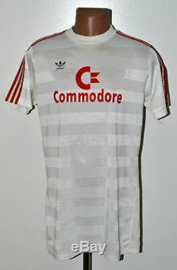 Bayern Munich 1985/1986 Away Football Shirt Adidas Size L Adult