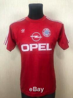 Bayern Munich 1989 1991 Home Football Soccer Jersey Shirt Trikot Adidas Size M