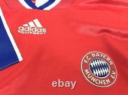 Bayern Munich 1993/1994/1995 ADIDAS Home Soccer Jersey + Shorts Men's Size L