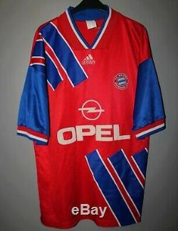 Bayern Munich 1993/1995 Home Football Shirt Jersey Trikot Vintage Adidas #2