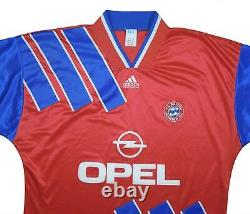 Bayern Munich 1993-95 Authentic Home Shirt (Very Good) XL Soccer Jersey