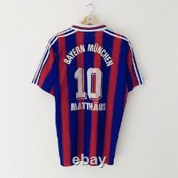 Bayern Munich 1995-97 Matthäus Home Jersey XL
