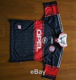Bayern Munich 1997 Away Football Shirt Jersey Trikot Munchen Medium M Adidas 90s