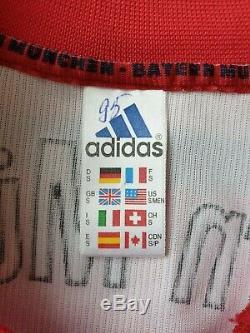 Bayern Munich 1998/1999/2000 Adidas Away Football Soccer Shirt Jersey Munchen