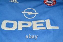 Bayern Munich 1999/2001 Goalkeeper Football Shirt #1 Kahn Adidas Size S Adult