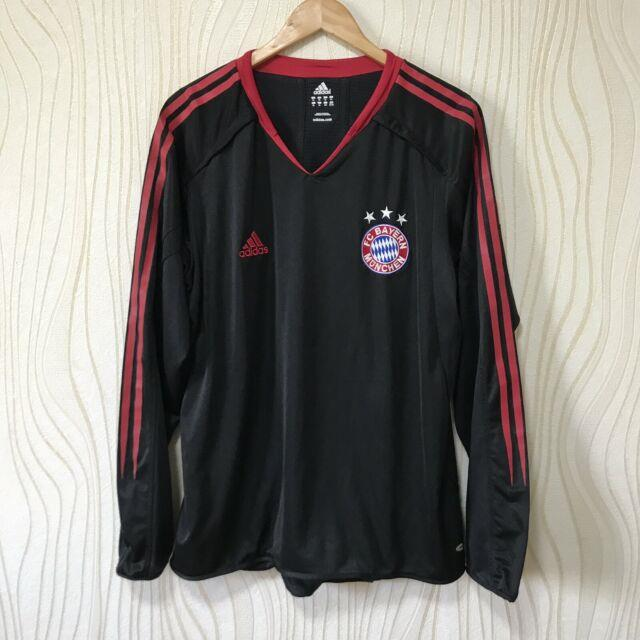 Bayern Munich 2002 2003 Home Football Shirt Soccer Jersey Adidas Player Issue