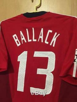 Bayern Munich 2002/2004 Cup Football Shirt Jersey Trikot Michael Ballack #13