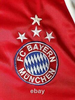 Bayern Munich 2003 2004 Home football Adidas long sleeve jersey size XL