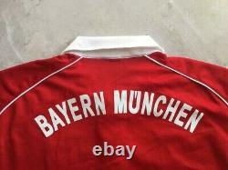 Bayern Munich 2005 2006 Long Sleeve Home Football Shirt Jersey Adidas Vintage