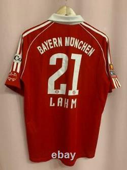Bayern Munich 2005/2006 Player Issue Home Football Shirt Jersey Trikot Lahm #21