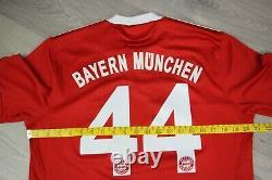 Bayern Munich 2009 Football Soccer Shirt Jersey #44 Tymoshuk Adidas Maglia Sz M