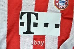 Bayern Munich 2010/2011 Home Football Shirt Jersey#10 Robben Adidas Size L Adult