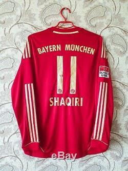Bayern Munich 2011/2012/2013 SHAQIRI Football Soccer Shirt Jersey Switzerland FC
