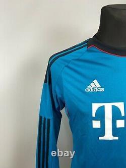 Bayern Munich 2013 2014 Goalkeeper Shirt Football Soccer Jersey Mens Size S