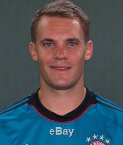 Bayern Munich 2013/2014 NEUER Football Soccer Shirt Jersey Germany Goalkeeper