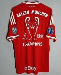 Bayern Munich 2013 Champions League Winner Munich Adidas Jersey Trikot Shirt
