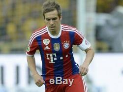 Bayern Munich 2014-2015 Adizero Player Issue Jersey Sz L Limited Edition Box Kit